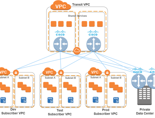 Cisco CSR Transit VPC in AWS Cloud